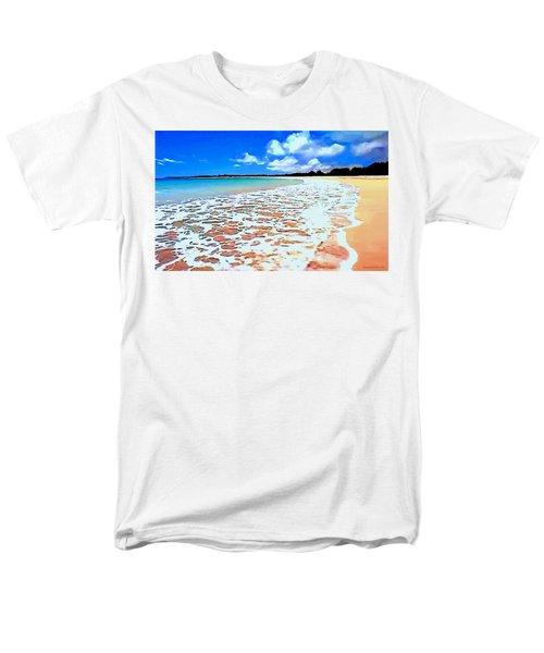 Tidal Lace Men's T-Shirt  (Regular Fit) by Sophia Schmierer