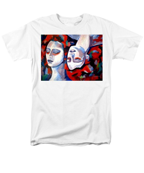 Men's T-Shirt  (Regular Fit) featuring the painting Time Goes By by Helena Wierzbicki