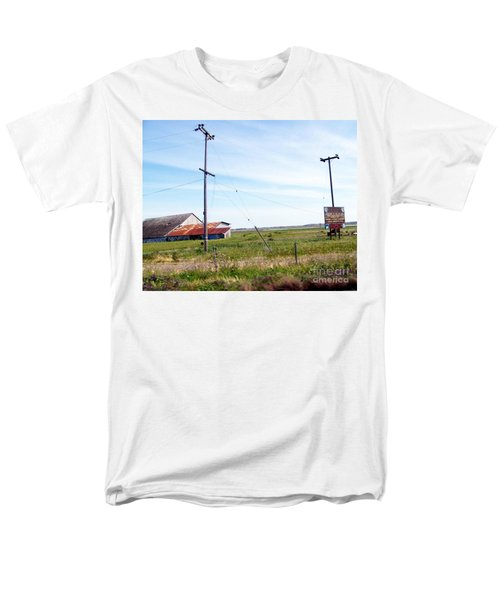 Men's T-Shirt  (Regular Fit) featuring the photograph Time Passed By by Bobbee Rickard