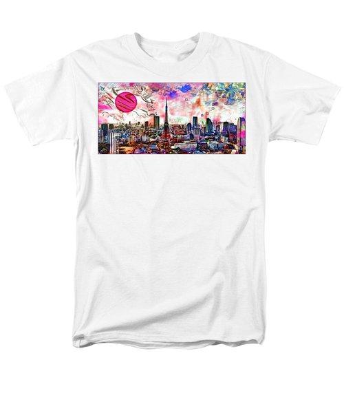 Tokyo Metropolis Men's T-Shirt  (Regular Fit) by Daniel Janda