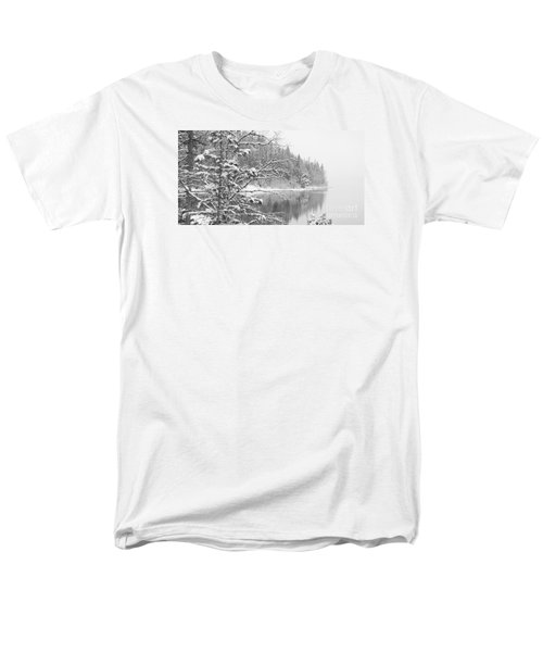 Touch Of Winter Men's T-Shirt  (Regular Fit) by Diane Bohna