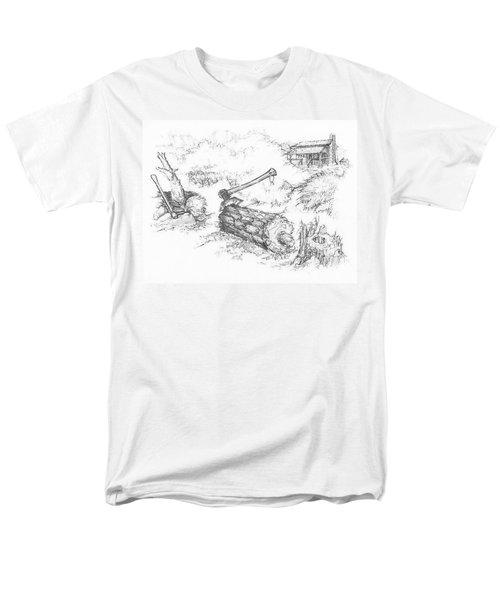 Trail Divides Men's T-Shirt  (Regular Fit) by Scott and Dixie Wiley