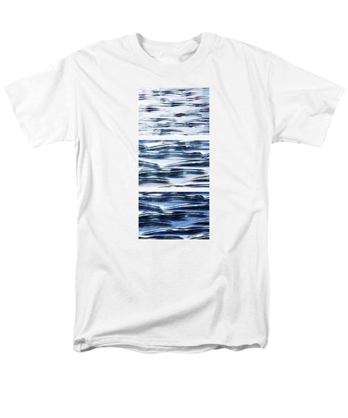 Men's T-Shirt  (Regular Fit) featuring the photograph Trio In Blue by Wendy Wilton
