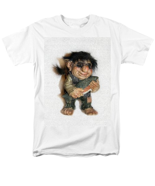 Troll Fisherman Men's T-Shirt  (Regular Fit) by Sergey Lukashin