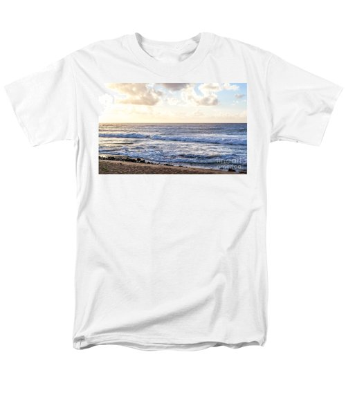 Men's T-Shirt  (Regular Fit) featuring the photograph Tropical Morning  by Roselynne Broussard