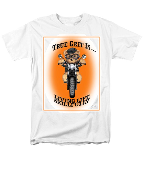 True Grit Men's T-Shirt  (Regular Fit) by Jerry Ruffin