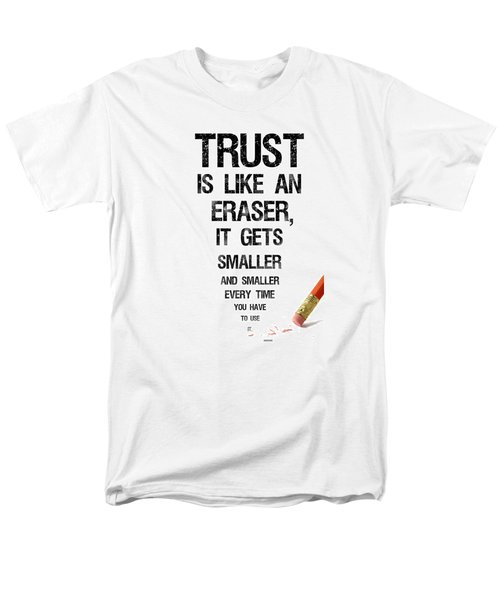 Trust Men's T-Shirt  (Regular Fit) by Jean Haynes