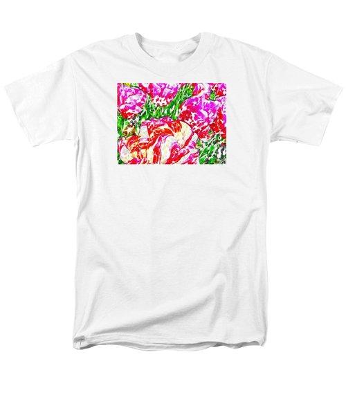 Tulip Infusion Men's T-Shirt  (Regular Fit) by Zafer Gurel
