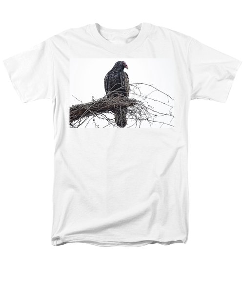 Turkey Vulture Men's T-Shirt  (Regular Fit) by Douglas Barnard