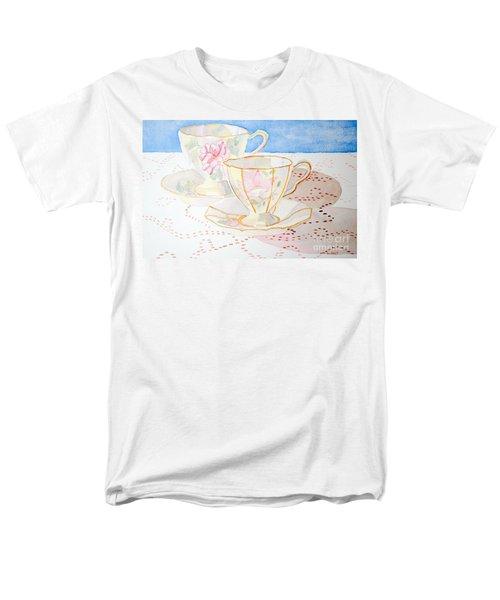 Two For Tea Men's T-Shirt  (Regular Fit) by Laurel Best