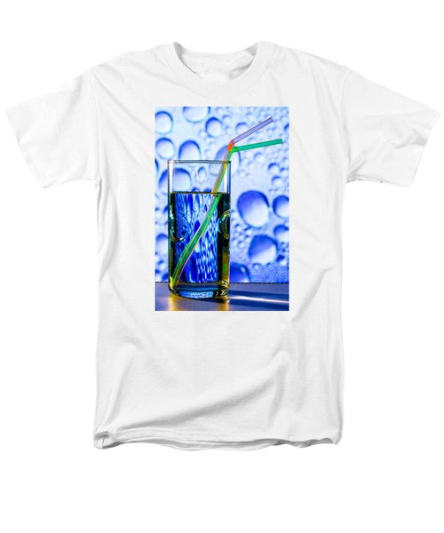 Men's T-Shirt  (Regular Fit) featuring the photograph Two In Bubbles by Edgar Laureano