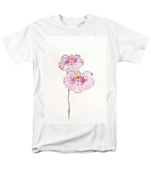 Two Orchids Men's T-Shirt  (Regular Fit) by Michele Myers