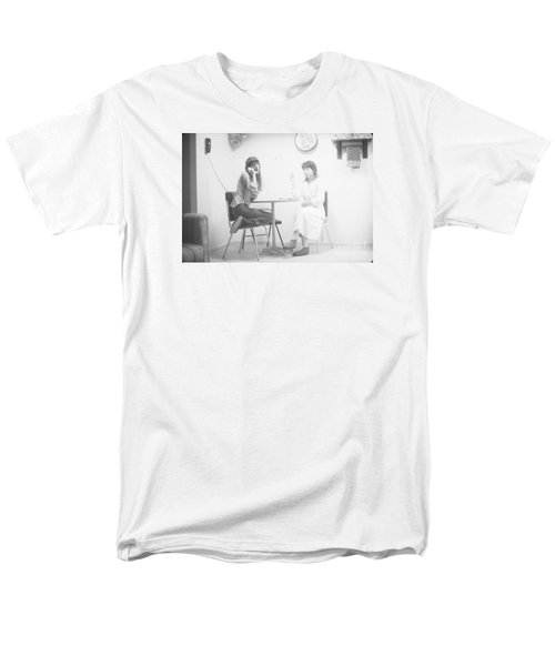 Men's T-Shirt  (Regular Fit) featuring the photograph Two Sisters Project 12 by Steven Macanka