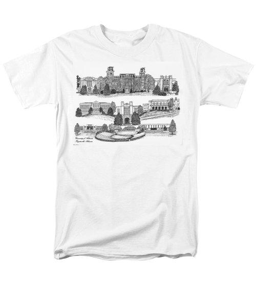 University Of Arkansas Fayetteville Men's T-Shirt  (Regular Fit) by Liz  Bryant
