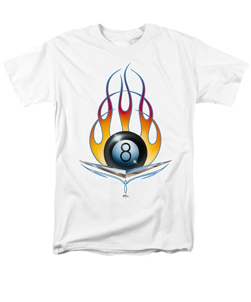V 8 Men's T-Shirt  (Regular Fit) by Alan Johnson