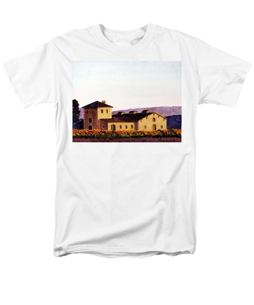 V. Sattui Winery Men's T-Shirt  (Regular Fit) by Mike Robles