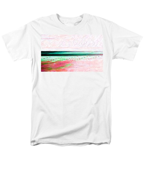 Men's T-Shirt  (Regular Fit) featuring the photograph Variations On An Abstract Theme by Chris Anderson