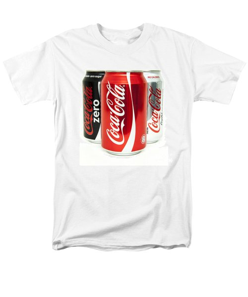 Various Coke Cola Cans Men's T-Shirt  (Regular Fit) by Antony McAulay