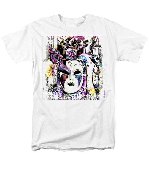 Venetian Mask Men's T-Shirt  (Regular Fit) by Barbara Chichester