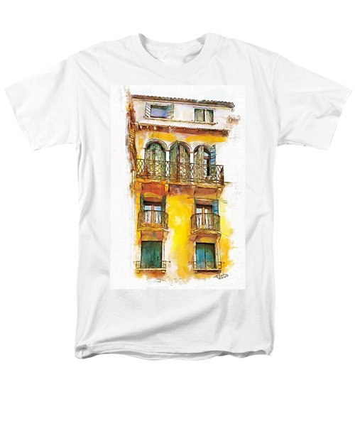 Men's T-Shirt  (Regular Fit) featuring the painting Radiant Abode by Greg Collins