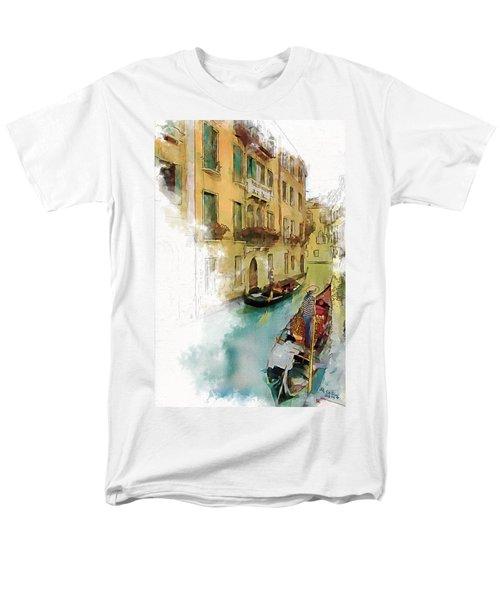 Venice 1 Men's T-Shirt  (Regular Fit) by Greg Collins