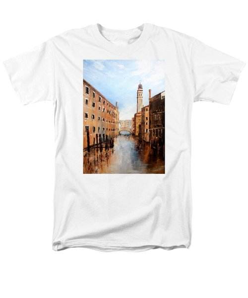Men's T-Shirt  (Regular Fit) featuring the painting Venice Italy by Jean Walker