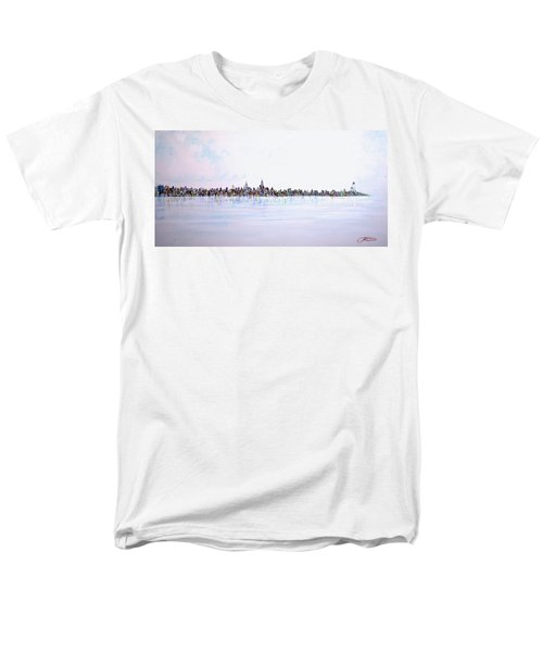 View From The Hudson Men's T-Shirt  (Regular Fit)