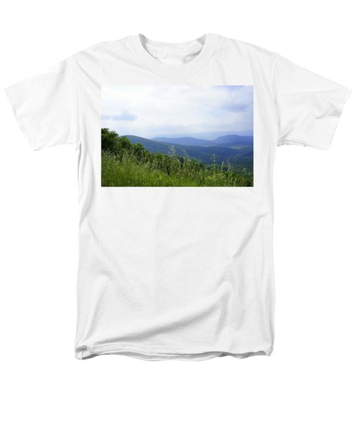 Men's T-Shirt  (Regular Fit) featuring the photograph Virginia Mountains by Laurie Perry
