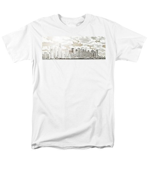 Men's T-Shirt  (Regular Fit) featuring the photograph Visions In My Mind by Janie Johnson