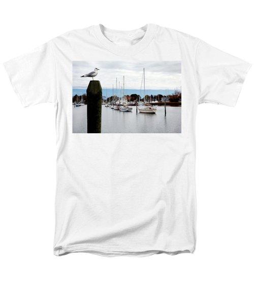 Waiting For Sandy Men's T-Shirt  (Regular Fit) by Lon Casler Bixby