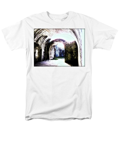 War At Fort Pickens Men's T-Shirt  (Regular Fit) by Faith Williams