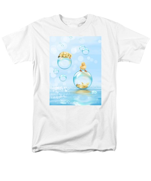 Water Games Men's T-Shirt  (Regular Fit) by Veronica Minozzi