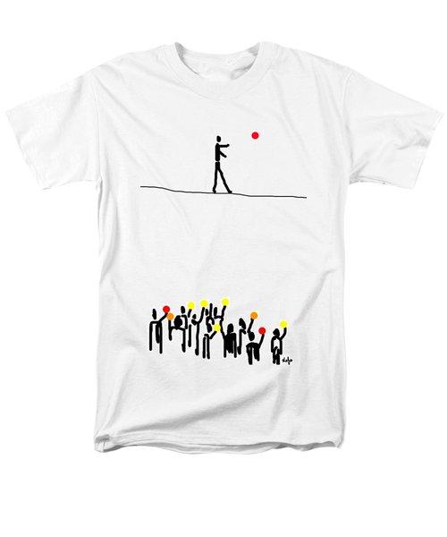 We Believe In Circles  Men's T-Shirt  (Regular Fit)