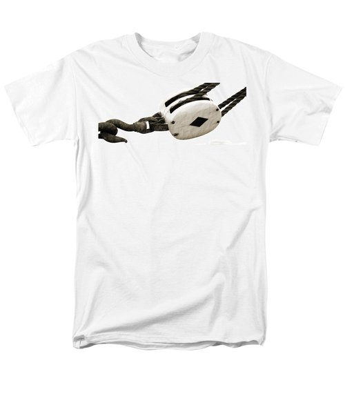Weathered Pulley Men's T-Shirt  (Regular Fit)