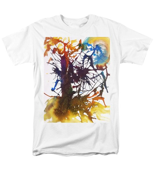Web Of Life Men's T-Shirt  (Regular Fit) by Ellen Levinson
