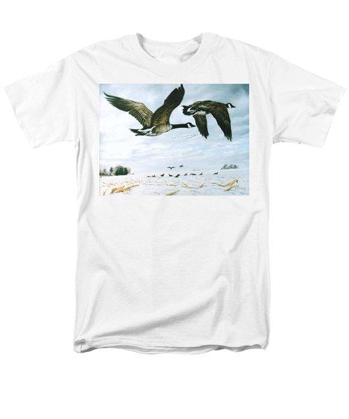 Welcome Home Men's T-Shirt  (Regular Fit) by Craig T Burgwardt