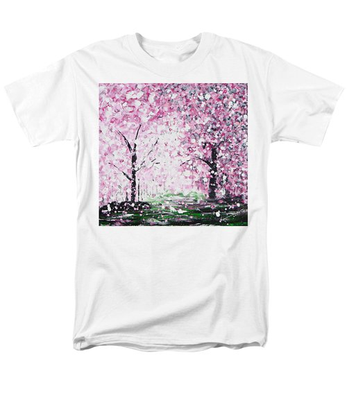 Welcome Spring Men's T-Shirt  (Regular Fit) by Kume Bryant