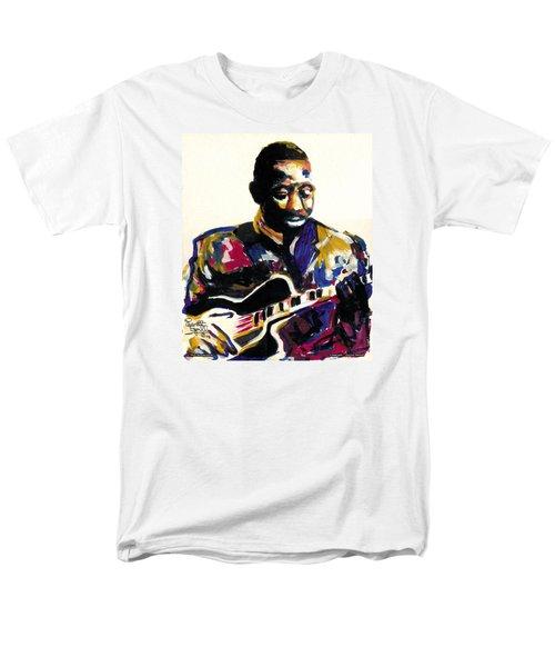 Wes Montgomery Men's T-Shirt  (Regular Fit) by Everett Spruill