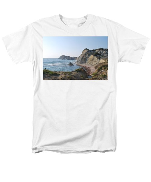 West Erikousa 1 Men's T-Shirt  (Regular Fit) by George Katechis