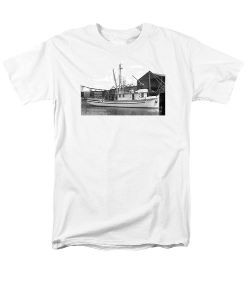 Western Flyer Purse Seiner Tacoma Washington State March 1937 Men's T-Shirt  (Regular Fit) by California Views Mr Pat Hathaway Archives