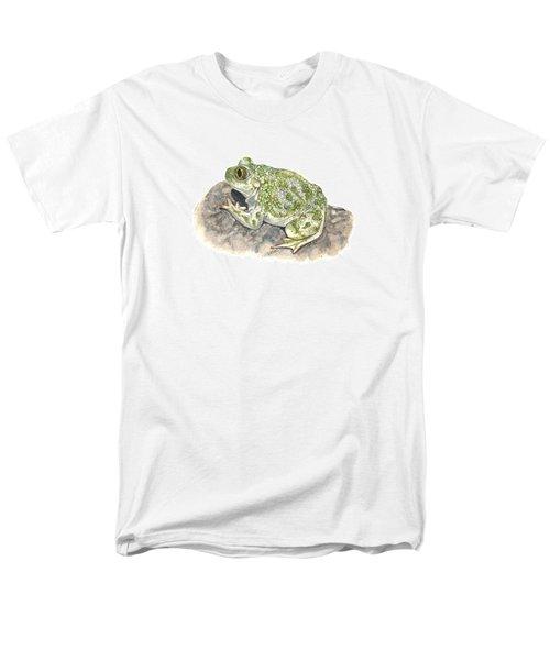 Western Spadefoot Men's T-Shirt  (Regular Fit) by Cindy Hitchcock