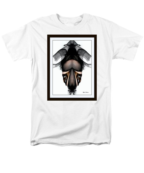 Men's T-Shirt  (Regular Fit) featuring the painting What You See Is What You Get? by Rafael Salazar