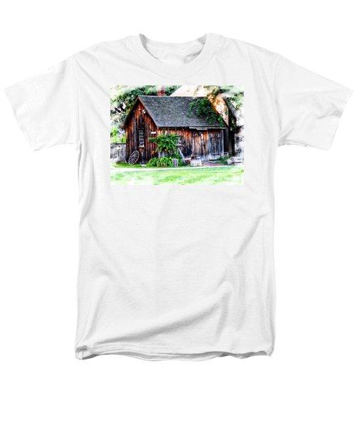 Wheel Shop Men's T-Shirt  (Regular Fit) by Marcia Lee Jones