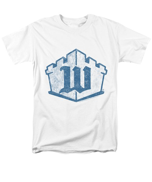 White Castle - Monogram Men's T-Shirt  (Regular Fit) by Brand A