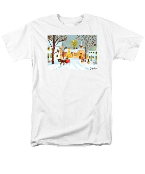 White Christmas Men's T-Shirt  (Regular Fit)