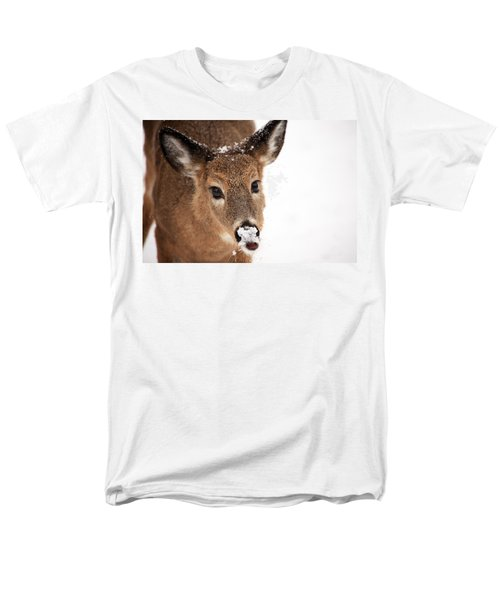 White On The Nose Men's T-Shirt  (Regular Fit)