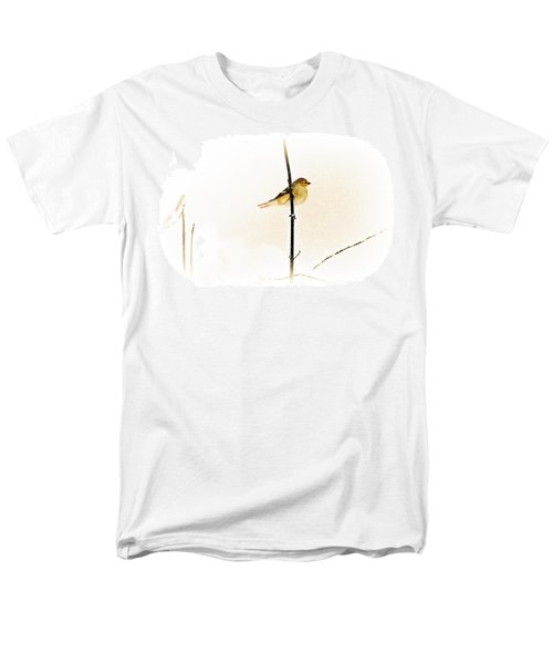 White Out Conditions Men's T-Shirt  (Regular Fit)