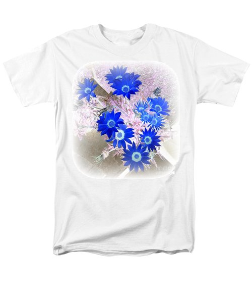 Men's T-Shirt  (Regular Fit) featuring the photograph Wild Blue by Kenneth Clarke