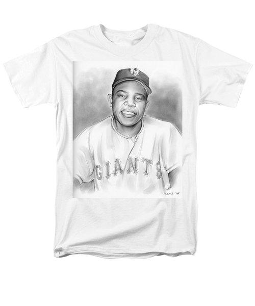 Willie Mays Men's T-Shirt  (Regular Fit)