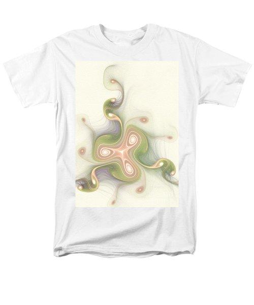 Men's T-Shirt  (Regular Fit) featuring the digital art Winding by Svetlana Nikolova